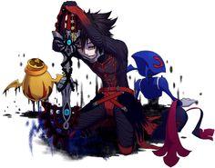 Vanitas and an unversed, Kingdom Hearts fan art