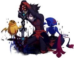 Vanitas and an unversed, Kingdom Hearts fan art