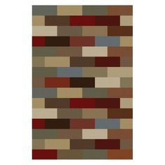 Tayse Rugs Elegance Collection 5180 Abstract Rug - Multi