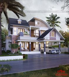 Find here the best architecture designers in Cochin .We have best team of home builders in Ernakulam, kerala.creo homes are the creative Interior and architecture Design company in Kerala. Modern Residential Architecture, Amazing Architecture, Architecture Design, Kerala House Design, Unique House Design, Construction Process, Construction Services, Free House Plans, Kerala Houses