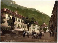 old Baile Herculane Romania 3 Ghost City, Austrian Empire, Heart Of Europe, Austro Hungarian, Budapest Hungary, Old Postcards, Faded Glory, Journey, Mansions