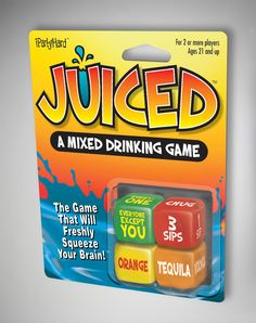 Party points to ME! I just found the Juiced Dice Drinking Game from Spencer's. Visit their mobile website to get this item and more like it. Fun Party Games, Adult Party Games, Adult Games, Ideas Party, Gift Ideas, Drinking Games For Parties, Drunk Games, 18th Birthday Party, Drinking Games