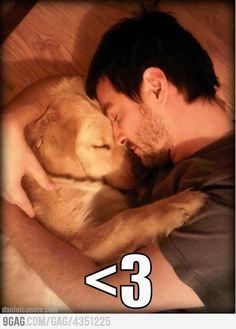 True Love...This is how we do it in our house <3 our dogs!