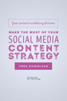 Download our Social Post Calendar today!  Learn how to plan and schedule your social media content in advance with this social media calendar template. http://envizionadvertising.com/socialmediaplanner/