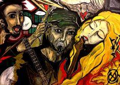 Joker, Band, Music, Fictional Characters, Inspiration, Musica, Biblical Inspiration, Sash, Musik