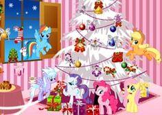 JuegosMyLittlePony.es - Juego: Navidad My Little Pony - Jugar Online Gratis