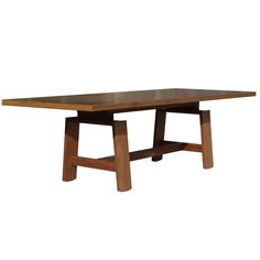 Large Dining Table by Silvio Coppola for Bernini   From a unique collection of antique and modern dining room tables at http://www.1stdibs.com/furniture/tables/dining-room-tables/