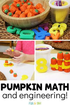 This pumpkin STEM challenge is an incredibly engaging way to explore math and engineering concepts with your students. You'll definitely want to add it to your list of preschool pumpkin activities to try this fall. Early Learning Activities, Autumn Activities For Kids, Preschool Activities, Enchanted Learning, Pumpkin Stem, Preschool Lesson Plans, Stem Challenges, Literacy, Engineering
