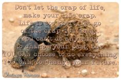 LET GO OF THE CRAP