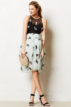 Smitten Organza Dress #anthropologie #anthrofave