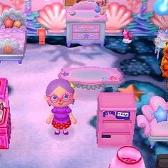 I'm addicted to Animal Crossing again  I wish I had this outfit hair and mermaid house in real life!  #animalcrossing #animalcrossingnewleaf