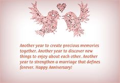 Happy Anniversary Wishes Images and Quotes. Send Anniversary Cards with Messages. Happy wedding anniversary wishes, happy birthday marriage anniversary Anniversary Message For Husband, Anniversary Quotes For Parents, Happy Anniversary Messages, Wedding Anniversary Quotes, Wedding Quotes, Anniversary Cards, Wedding Ideas, Anniversary Ideas, 25th Anniversary