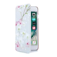 9101dc7b18156e Details about OFFICIAL Ted Baker AMMAA Mirror Folio iPhone 8 Plus Case  Oriental Blossom