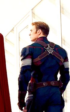 Perfect angle. Important shot. Captain small ass. ((But it's actually not small??))