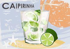 CAIPIRINHA DRINKS - SERVIÇO DE BAR: CAIPIRINHA NACIONAL DO BRASIL