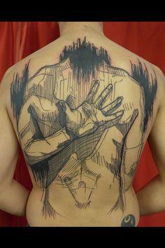 tatouage graphique: Léa Nahon