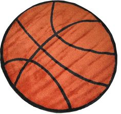 Kids Play Funtime Shapes Basketball FTS-004 Area Rugs