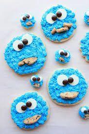 Cookie Monster cookies  yum x