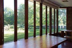 The Acres - Samuel Eppstein Residence / 11090 Hawthorne Dr, Galesburg, MI / 1948 / Usonian / Frank Lloyd Wright