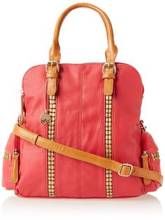 Big buddah purse in pink! LOVE.. I need to find this bag!