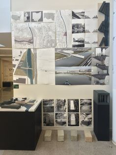 Pin up board examples. University of Cincinnati, College of DAAP, DAAPWorks, Architecture posters and presentation