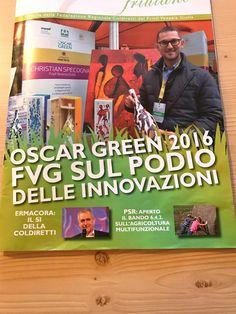 Oscar Green 2016!!! #Coldiretti #OscarGreen #Vino #Arte #Specogna #CristianSpecogna