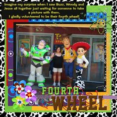 Buzz, Woody and Jessie - MouseScrappers.com