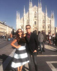 Facendo da guida turistica a @karolsevillaofc per Milano ITALIA quanto sei bella!! by ruggeropasquarelli