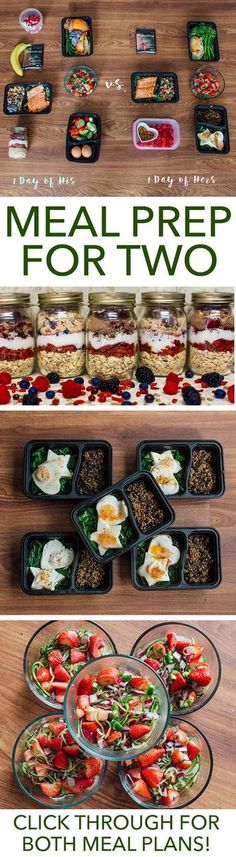 Meal prep is more fun when you have a partner in the kitchen. Make this week extra special with this meal prep plan for two. // meal prep mondays // meal planning // healthy foods // couples // relationships // valentine (Shed Plans 30 Diet) Meal Prep Plans, Diet Meal Plans, Food Prep, T25 Meal Plan, Weekly Meal Prep, Meal Prep Grocery List, Healthy Meal Prep, Healthy Snacks, Eat Healthy