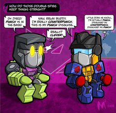 Lil Formers - Double Spies by MattMoylan on DeviantArt