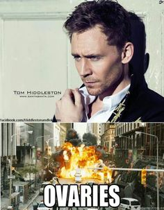 Tom Hiddleston ~ Exploding Ovaries @Michelle Flynn Walsh