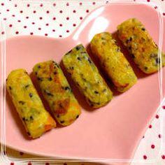 離乳食♡さつまいものスティックおやき by クックエリー Baby Food Recipes, Bread Recipes, Toddler Meals, Toddler Food, Recipe For 4, Food Preparation, Deli, Asparagus, Oreo