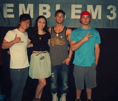 Yesterday at there meet and greet 3 emblem33 pinterest m4hsunfo