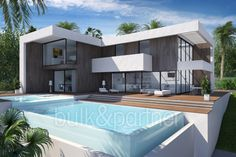 Modern luxury villa with sea views for sale in Jávea - ID 5500623 - Real estate is our passion... www.bulk-partner.com