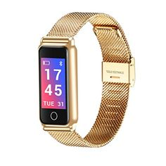 f5a9a272e9705 Remiel Store Stainless Steel Wrist Smart Watch Fitness Sports Blood  Pressure Heart Rate Tracker (Free