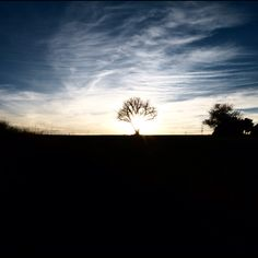 Atardecer en la Ribera del Duero -foto Abel Martín