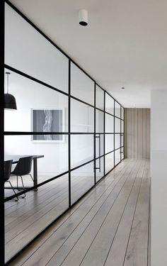 I'm a complete sucker for thin, black, steel window #hotel interior design #interior design| http://interiorideas.hana.lemoncoin.org