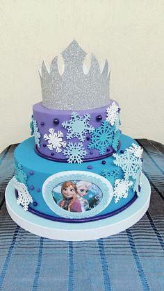Torta falsa de Frozen