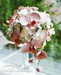 Flor de papel | Orquídeas