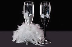 Wedding #bride and groom #toasting champagne #flutes glasses art deco gift,  View more on the LINK: 	http://www.zeppy.io/product/gb/2/182198319563/