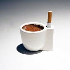 For a good morning...CAFFEE and CIGARETTE