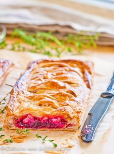 Beetroot and Goats Cheese Tart #vegetarin | DeliciousEveryday.com