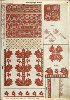 Folk Embroidery, Learn Embroidery, Embroidery Patterns, Machine Embroidery, Palestinian Embroidery, Antique Quilts, Embroidery Techniques, Pattern Books, Cross Stitching