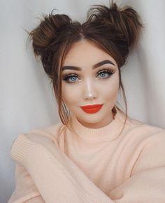 Makeup look from @ohmygeeee on Instagram