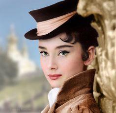 "Audrey Hepburn as Natasha Rostova in ""War and Peace"" (1956) on Flickr."