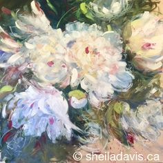 Wisp of a Dream by Sheila Davis Peonies, Paintings, Inspiration, Art, Biblical Inspiration, Art Background, Paint, Painting Art, Kunst