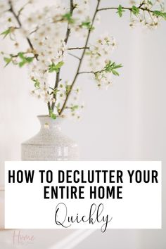 Not only is getting rid of clutter rewarding but it also helps keep your home clean and you'll have an easier time organizing your home. I will teach you how to get rid of clutter fast and efficiently.