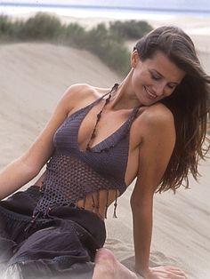 crochet pattern - bikini top with tassels