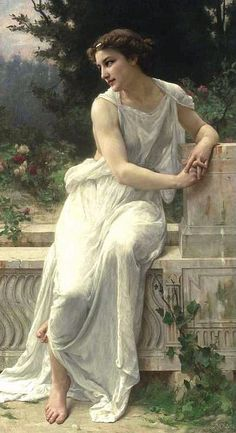Guillaume Seignac - Young Woman of Pompeii