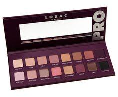 Swatches: LORAC Pro Palette 4 Eyeshadow Palette
